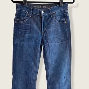 Citizens of Humanity Hutton Wide Leg Jeans 27